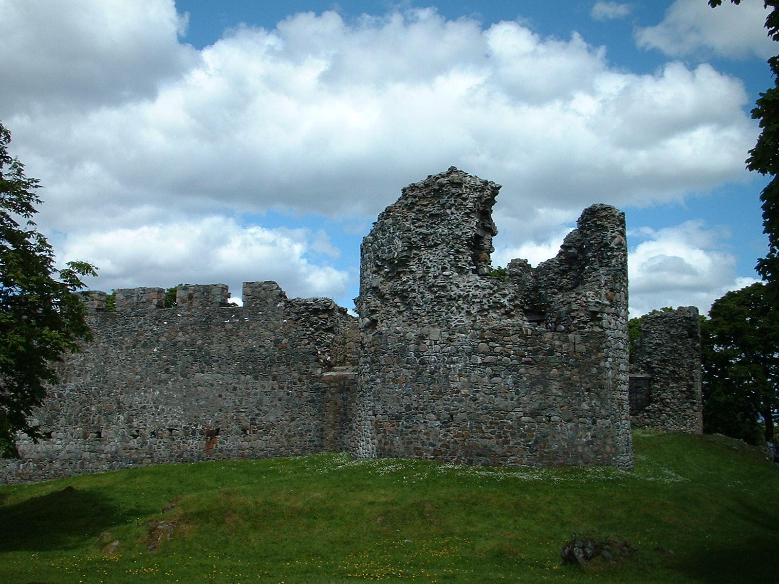 Old Inverlochy Castle Fort William Scotland