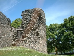 The ruins of Comyn's Tower